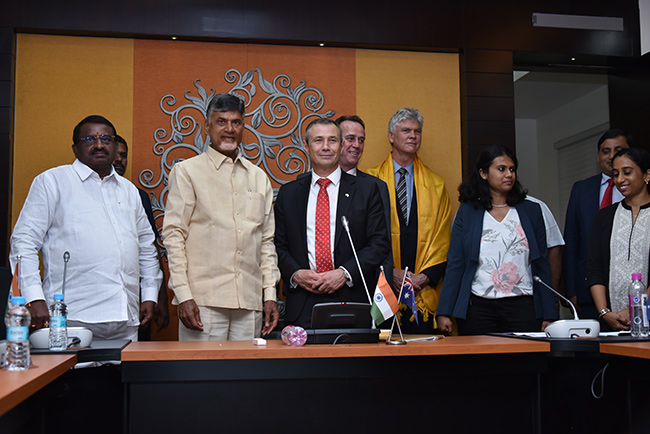 Western Australia and Andhra Pradesh government entered into Memorandum of Understanding (MoU) on sister State relations
