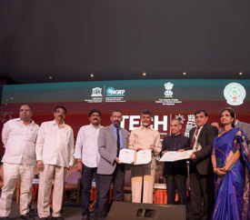 The Government of Andhra Pradesh, UNESCO MGIEP the Andhra Pradesh Economic Development Board join force to transform Vishakhapatnam into a Knowledge Hub & Technology enabled Education Center