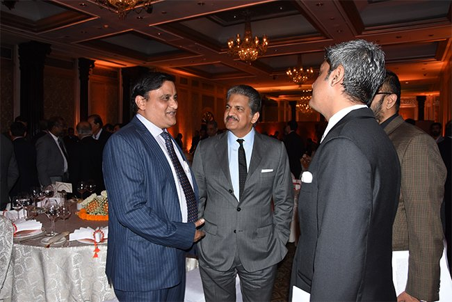 J Krishna Kishore APEDB CEO casual discussion with attendees