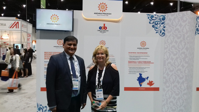 The Indian Pavilion at BIO International Convention & Exhibition-2017