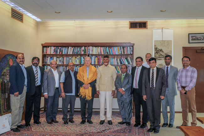 Hon'ble Chief Minister N Chandrababu Naidu's US Visit Day 1
