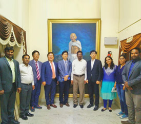 Andhra Pradesh Economic Development Board offers overview of the state's investment potential to South Korean delegation.