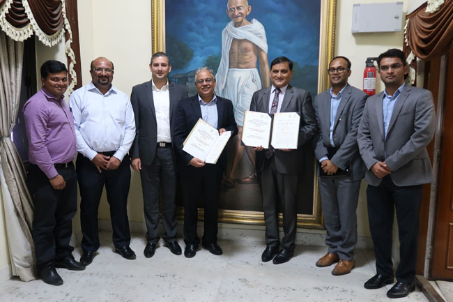National Collateral Management Services Limited (NCML) signed a Memorandum of Understanding (MoU) with the Andhra Pradesh