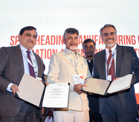 Andhra Pradesh's Economic Development Board Inks MoU with SUN Mobility to Set Up EV Charging/Swappable Infrastructure