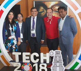 APEDB held discussion with delegation from Finland on the sidelines of Tech 2018