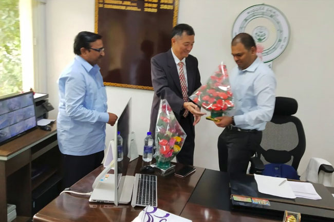 Greentech Industries President meets CEO, APEDB