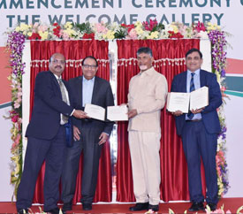 Anchor Electricals to invest 250 crores in Andhra Pradesh for an electrical construction material and appliances manufacturing facility - Mr. J. Krishna Kishore, CEO, APEDB
