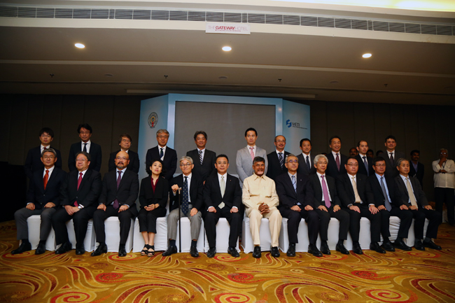 Japan Public Private Joint Conference 2017 organized by APEDB, JETRO and METI