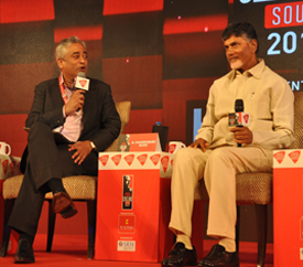 """Amaravati will be the best city in India"", says Hon'ble Chief Minister of Andhra Pradesh N Chandrababu Naidu"