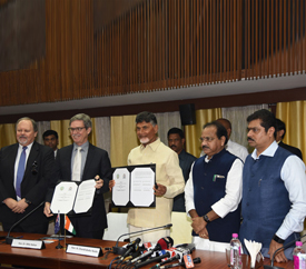 Andhra Pradesh Government inks MoU withWestern Australian Government.