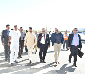 Hon'ble Chief Minister's vist to the US, UK, UAE Day 7, 8