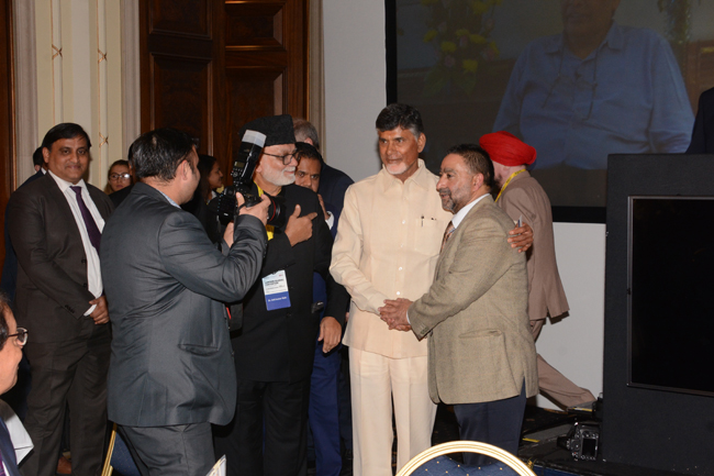 Hon'ble Chief Minister's vist to the US, UK, UAE