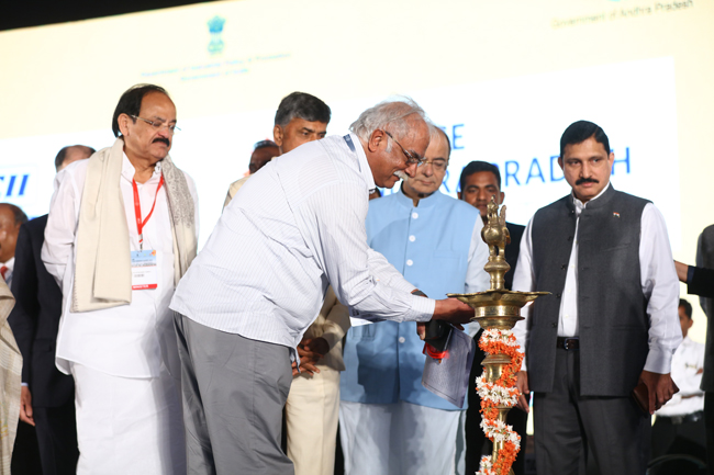 Inaugural ceremony @Partnership Summit-2017, Visakhapatnam