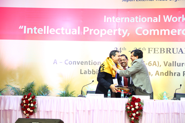 International workshop on Intellectual Property, Commercial and Emerging laws, Vijayawada-Day 1(February 24th)