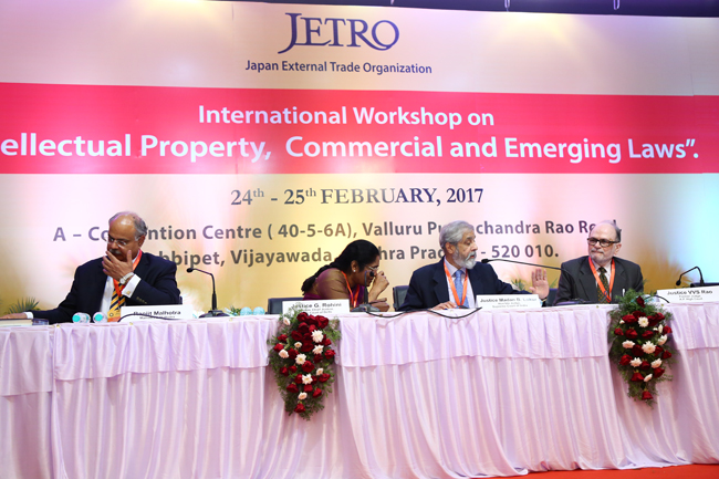 International Workshop on Intellectual Property, Commercial and Emerging laws, Vijayawada-Day 2(February 25th )