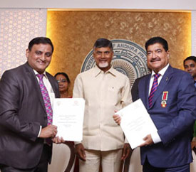 MoU signing with NMC Group headed by Dr. B.R. Shetty