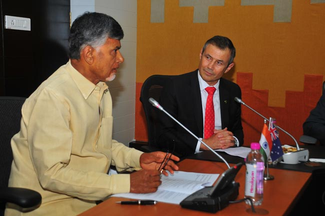 Western Australia inks MoU with Andhra Pradesh